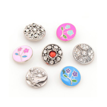 Custom made metal press studs buttons for 18mm metal snap button