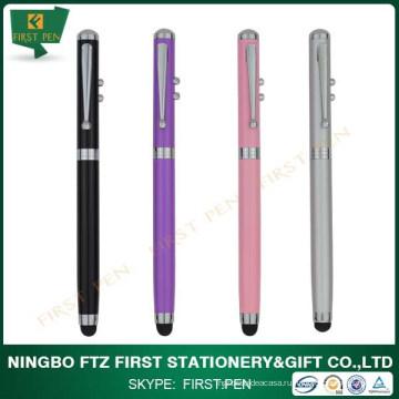 Лазерная указка Light Touch Stylus 4 в 1 многофункциональная ручка