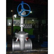 API600 Válvula de portão RF de aço carbono de grande porte