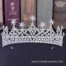 Crystal Wedding Tiaras With Stars On Top