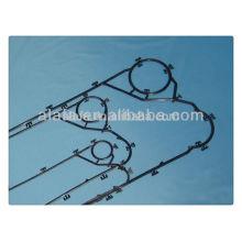 hisaka plate heat exchangers gasket LX20