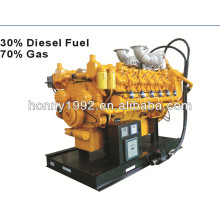 Gas natural de 1600kW / 2000kVA, generador doble del combustible diesel