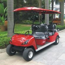 Китай OEM подгоняет 6 мест электрическая тележка гольфа ДГ-С4+2 с CE