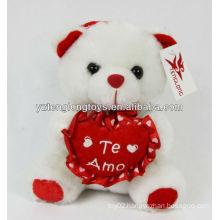 Valentine gifts sweet heart plush bear toy