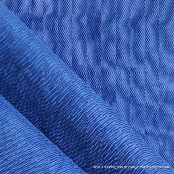 Oxford 420d Crinkle Stonewashed tecido de nylon com PU / PVC (XQ-153)