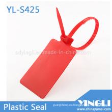 Etiquetas de sello de plástico de etiqueta grande en envío logístico