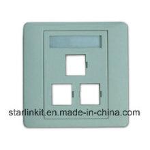 3-х портовая оптоволоконная лицевая панель для SC LC FC St