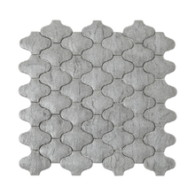 Hot Sell Stone Looks Glass Lantern Mosaic Arabesque Tile