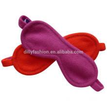 Super soft comfortable cashmere knit travel sleeping eye mask