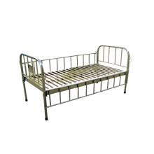 Сделано в Шанхае Все из нержавеющей стали плоская кровать для детей