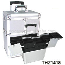 2014 new design professional makeup trolley case