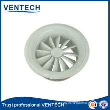 Air flow round swirl diffuser,high ceiling swirl diffuser