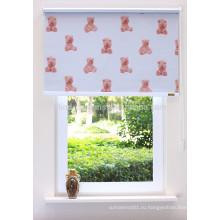 DIY тканевые рулонные шторы