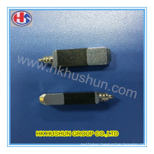 CNC Machining Electrical Adapter Brass Plug Pins for Charger (HS-BS-0082)