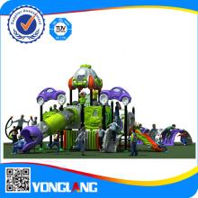 Équipement pour terrain de jeux de plein air en 2014, équipement de parc d'attraction