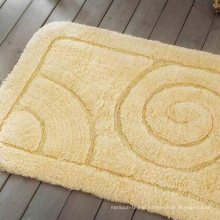 Solid Color Good Quality Jacquard Bath Rug