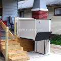 Vertikaler hydraulischer Rollstuhlaufzug für zuhause für Behinderte