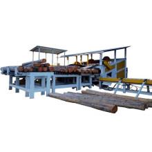 wood log cutting saw machine lathe for plywood machine line