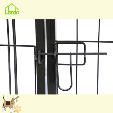 Simple Assembly Portable Metal Dog Playpen