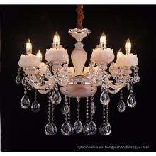 Lámpara de vela de hierro forjado tradicional guzhen aleación de zinc LT-88675