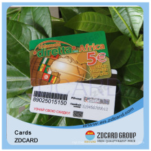 Plastic Card Scratch Card Barcode Card Magnetic Card