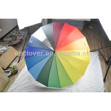 rainbow umbrella / straight umbrella / custom umbrella
