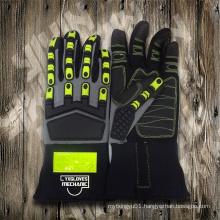 Mechanic Glove-Heavy Duty Glove-Industrial Glove-Protected Glove-Safety Glove