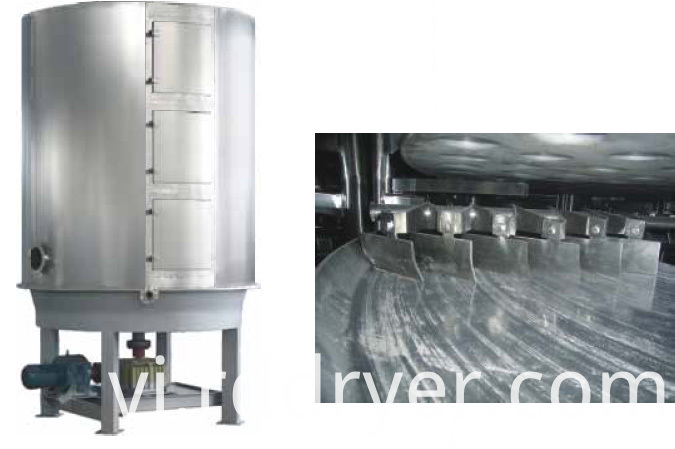 Barium sulfate dedicated disc dryer
