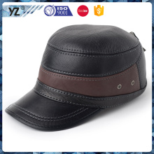 2016 new fashion high quality leather baseball cap hats and caps men high quality baseball caps sports cap winter with low price