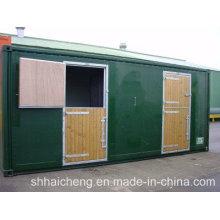 Conteneur pour chevaux / cheval stable avec porte large (shs-fp-animal002)