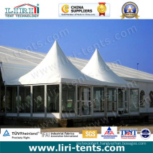 High Quality Outdoor Pagoda Tents with Glass Wall for Sale