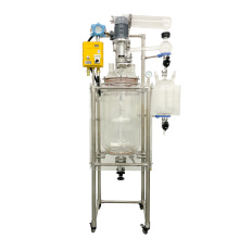 Customized Safety And Explosion Protection 50L Industrial Chemical Equipment Jacketed Glass Reactor