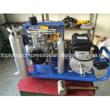 Compresor de aire comprimido de alta presión del salto de la escafandra autónoma del compresor (GX100 / E3)