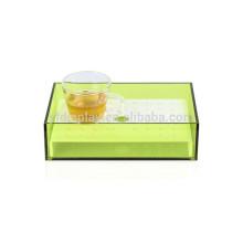 Small Green Acrylic Tea Tray