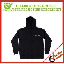 2013 New Design Men Sweatshirt Fleece Hoody with Zipper