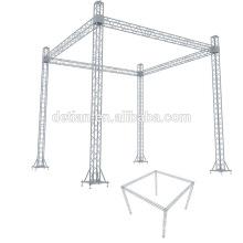 A oferta da exposição de Detian fornece o suporte de alumínio da cabine da treliça da exposição do fardo para o evento