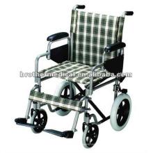 Nylon Sitz und Rückenlehne Standard Manuell Rollstuhl