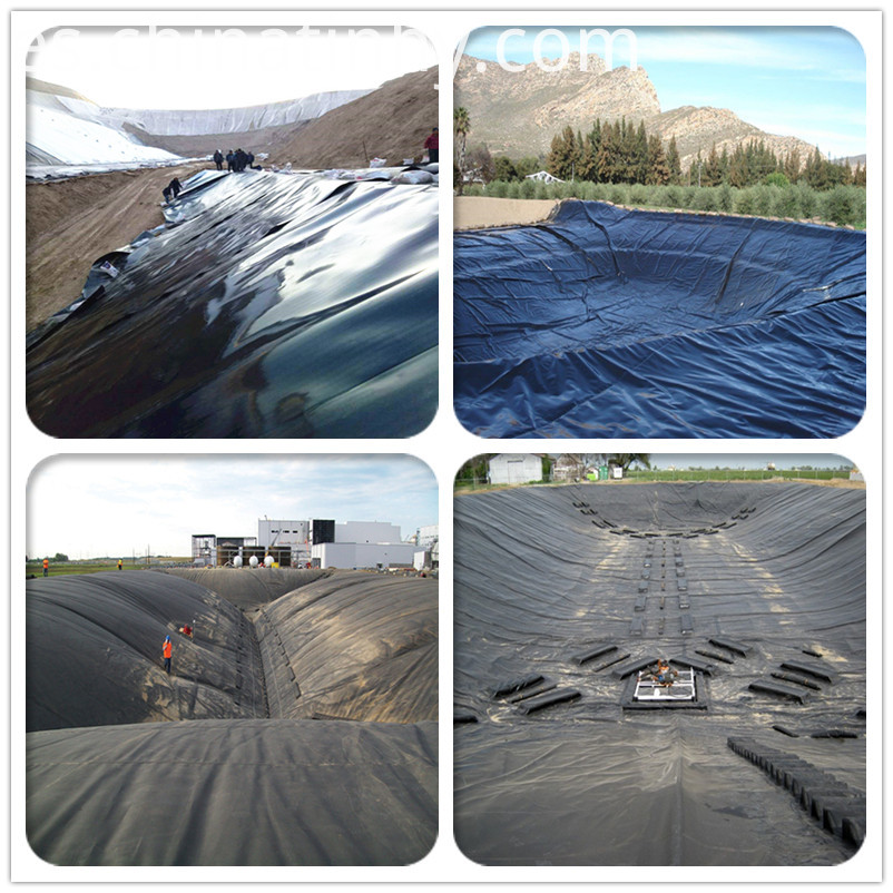 HDPE Geomembrane for Fish Pond Farming
