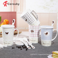 Strong ceramic construction fine porcelain mugs