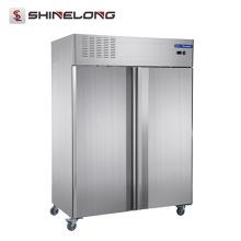 Congélateur vertical de portes d'équipement commercial de réfrigération de Furnotel (matériel standard européen et système de refroidissement)