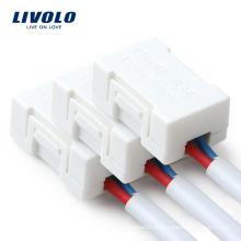 Livolo Спаситель маломощной светодиодной лампы Белый пластик Адаптер освещения VL-PJ01