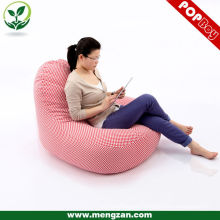 adults recline single bean bag sofa digital printing bean bag