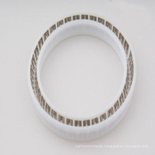 PTFE Spring Energized Seal with Slanted Coil Spring