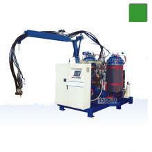 Low pressure PU polyurethane insulation foam injection machine with customized injection mould
