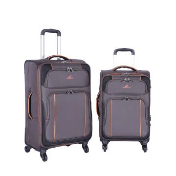 Nylon Travel Business Suitcase Zachte interne trolleybagage