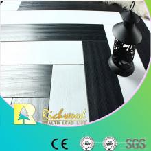 12.3mm E0 HDF AC4 en relieve haya encerado piso laminado filo