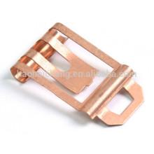 Metralla de estampado de cobre de precisión para elemento electrónico