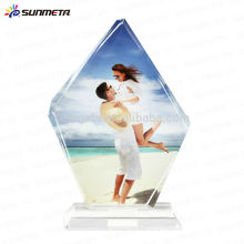 Sublimation crystal crafts for souvenir and promotional gift