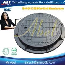 Manufacturing smc composite manhole cover mould