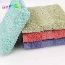 Toalla de cara de hotel 100% de lujo del algodón, toalla de baño del hotel